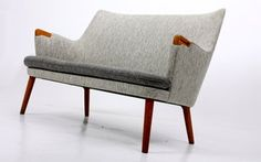 Mini bear sofa by Hans Wegner