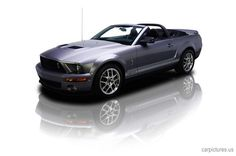 2007 Ford Mustang 582 HP Shelby GT500 Convertible | Car Pictures  I would take a ride in this!