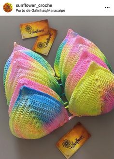 Bikinis Crochet, Crochet Bikini Bottoms, Crochet Fashion, Crochet Designs, Crochet Clothes, Couture, Bb, Ideas, Crochet Bikini