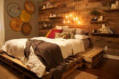 pallet bedroom project