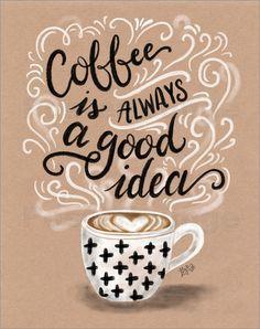 Coffee is Always a Good Idea - © Lily & Val, MGL Licensing - Bildnr. 633756