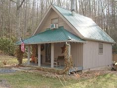 Creekside Waterfalls Cabin with Hot Tub, FirePit, WiFi, and Pet Friendly