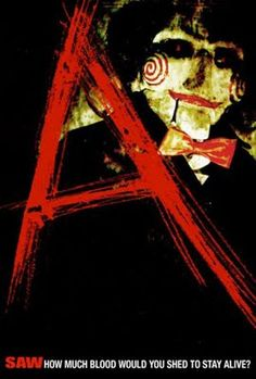 """watched the entire """"Saw"""" series over the past 2 days. As I watched I created a character web for each movie - my OCD is satisfied. Horror Films, Horror Art, Scary Movies, Good Movies, Awesome Movies, Jigsaw Movie, Saw Series, Character Web, Jigsaw Saw"""