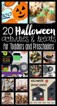20 Halloween Activit