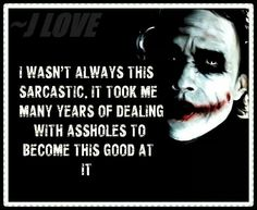 Yes it did Dark Quotes, Best Quotes, Funny Quotes, Sarcastic Quotes, Favorite Quotes, Joker Art, Joker Batman, Mindset Quotes, Life Quotes