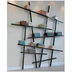 Biblioth que design et pas ch re diy pinterest biblioth que originale deco bibliotheque - Les etageres funky d de quirky ...