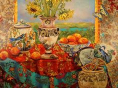 Glorious Harvest by Katherine (Kate) Steiger ~  http://katherinesteiger.com/