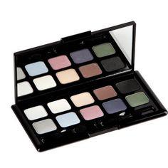 La paleta de 10 sombras cromatic presentada en estuche negro con imán en la base, espejo y dos aplicadores dobles. Los godets se adhieren a la base mediante un imán, lo que permite un fácil recambio. La paleta cromatic se compone de una colección de colores que permite realizar una amplia variedad de maquillajes de ojos. D'ORLEAC, te ofrece una amplia gama de sombras de ojos en polvo, de fácil aplicación y de suaves texturas, fáciles de combinar entre sí para obtener los colores que más se… Makeup Products, Eyeshadow, Make Up, Base, Shopping, Beauty, Eyeshadows, Doubles Facts, Makeup Eyes