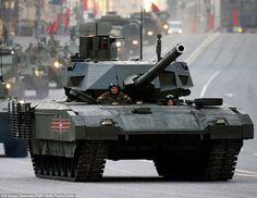Russian T-14 Armata main battle tank