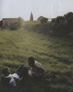 Roxane Mesquida and Brady Corbet by Edouard Plongeon