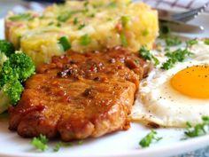 Fantastické měkké masíčko se šťouchanými brambory a vejcem. Autor: Naďa I. (Rebeka)