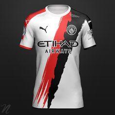 Football Shirt Designs, Football Kits, Football Jerseys, Soccer Uniforms, Soccer Shirts, Liga Premier, Jersey Outfit, Club Shirts, Premier League