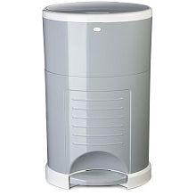 Dekor Plus Kolor Diaper Disposal System - Grey