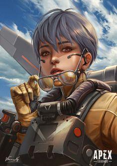 Video Game Art, Video Games, Apex 2, Legend Drawing, Warframe Art, Arte Cyberpunk, Apex Predator, Looks Cool, Art Reference