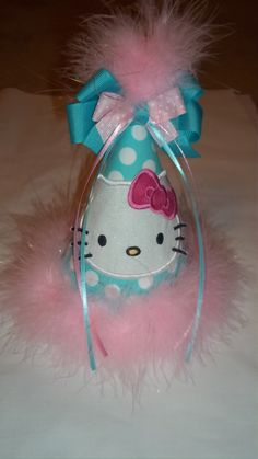 Hello Kitty Party Hat by kwatson2010 on Etsy