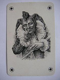 Rare Antique Joker Germany Dondorf Spielkarte JEU DE Cartes | eBay
