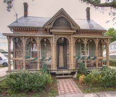Victorian cottage.