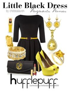 Yeah I only like the earrings, necklace, belt and shoes. I'm a firm believer in less is more.