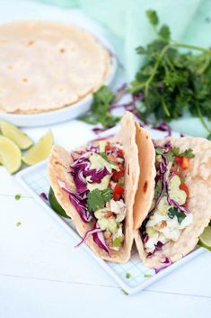 Halibut Fish Tacos with Avocado Aioli. After returning from Alaska, I've been craving seafood and fresh fish. When I found myself in the next town over from where I live, I decided to stop by at Paleo Fish Recipes, Grilling Recipes, Seafood Recipes, Low Carb Recipes, Whole Food Recipes, Halibut Recipes, Flour Recipes, Halibut Fish Tacos, Halibut Fishing