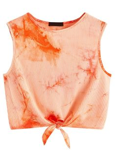 Tie Dye Girls Womens Primark Crop Top Festival Party Dance Unique Gift RAINBOW