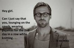 Thank you, Ryan Gosling.