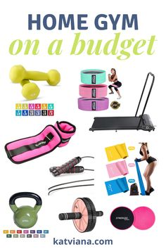 13 home gym must haves that are perfect for small spaces whether you are a beginner or if you've been working out for years. These are the best weights and gym essentials to help you get started on your fitness journey.