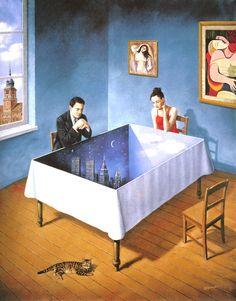 Famous Surrealism Paintings | The Surrealist Art Of Rafal Olbinski | The Modern Artist