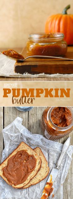 Pumpkin lovers will enjoy this simple low-fat pumpkin butter recipe, it's like pumpkin pie in a jar. A seasonal treat with breads, waffles, ice cream or yogurt. Pumpkin Butter, Pumpkin Spice, Pumpkin Pumpkin, Pumpkin Recipes, Fall Recipes, Sauces, Zucchini, Pumpkin Dessert, Cupcakes