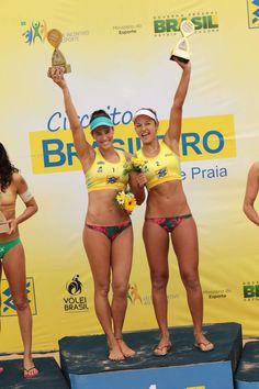 Brazilian beach volley team Ágatha/ Bárbara.
