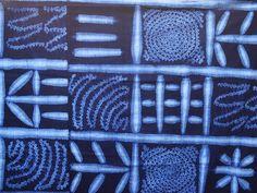 Traditional Yoruba Techniques of Adire and Tie-Dye - Long Ridge Farm Indigo Colour, Indigo Dye, Tye Dye, Shibori, Knitting Yarn, Textile Art, Pattern Design, Tie, Color Inspiration