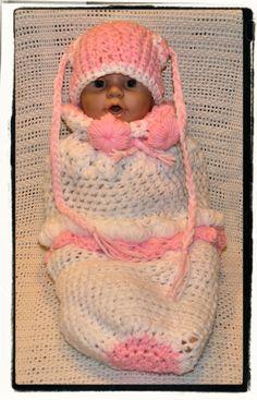 crochet baby pod