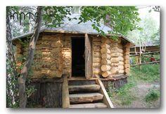 Деревянная юрта - аил  из бревен тел. +7(913) 206-3831