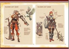 Udons Monster Hunter Illustrations Art Book Is Thicker Than Rathians Hide