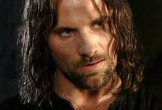 Viggo Mortensen as Aragon in The Lord of the Rings trilogy.