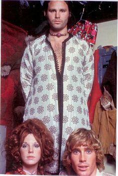 Jim Morrison, Pamela Courson and ....