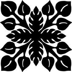Hawaiian Quilt Tile 40 : HaoleKid by winnie Reverse Applique, Hand Applique, Applique Patterns, Applique Quilts, Machine Applique, Hawaiian Quilt Patterns, Hawaiian Pattern, Hawaiian Quilts, Quilting Projects