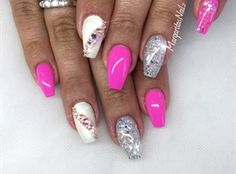 Nude Pink And Glitter by MargaritasNailz