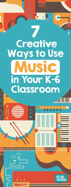 Music in the classroom can help with learning, behavior management, and more. Check out these creative ways to get K-6 graders moving and singing along.