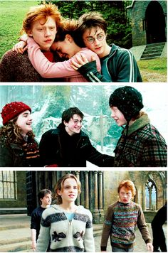 Harry Potter, Ron Weasley and Hermione Granger, Harry Potter and the Prisoner of Azkaban, 2004