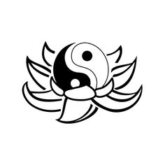lotus-ying-yang-tattoo.jpg (800×800)