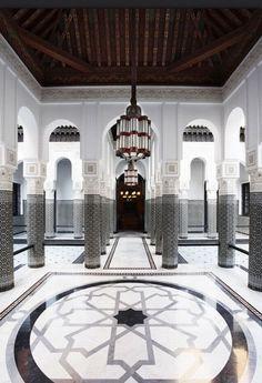 La Mamounia in Marrakech, Morocco ~ my favourite hotel in Marrakech! Mamounia Marrakech, Marrakech Morocco, Marrakesh, Moroccan Design, Moroccan Decor, Moroccan Style, Restaurant Mallorca, Tapas Restaurant, Islamic Architecture