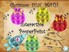 WINTER- FUN MATH- INTERACTIVE PowerPoint presentation