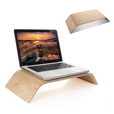 """New Arrival Fashion Design Laptop Holder wood Stand Professional Lapdesk holder For Macbook Air Pro 11"""" 13"""" 15'' 13inch 15inch"""