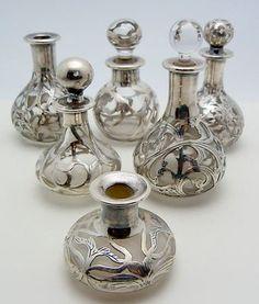 sterling-silver-overlay-glass-perfume-bottles