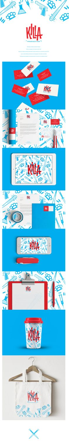 killa production • branding
