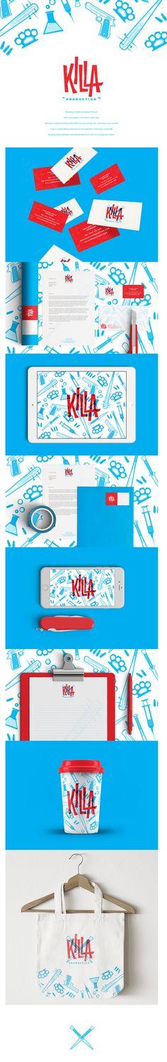 killa production • branding