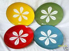Cathrineholm Lotus enamel Plate Set