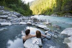 Western Canada's 12 best hot springs (Lussier Hot Springs in White Swan Provincial Park, BC pictured)