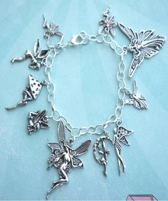 fairies charm bracelet