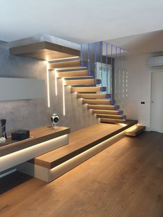 97 The most popular modern house staircase design models 97 The most popular mod stairs design Most popular the house staircase design models mod modern 97 The most popular modern house staircase design models 97 The most popular mod . Home Stairs Design, Stair Railing Design, Interior Stairs, Modern House Design, Railing Ideas, Staircase Design Modern, Modern Railing, Staircase Ideas, Stair Treads